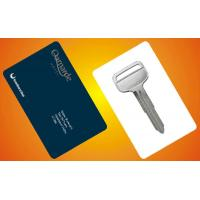 Buy cheap 1K Memory Contactless Chip Card , Hotel Door Key Card Silver Printing from wholesalers