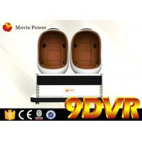 Buy cheap 1 / 2 / 3 Seats 9d Vr Cinema Electric System 2 - 9 Spare Meters For Busy Street from wholesalers