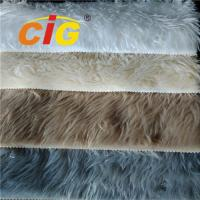 Buy cheap Colorful 100% Polyester Faux Fur Fabric For Seat Cover Auto Upholstery Fabric product