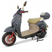 Buy cheap 800W Electric Street Motorcycle / Drum Brake Electric Power Motorcycle from wholesalers