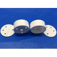 Buy cheap High Temperature Zirconia Ceramic Isolator / Small Ceramic Crucible with Top Cover from wholesalers