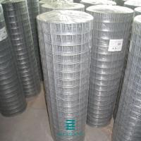 Buy cheap Plain Weave Welded Wire Fence Roll Galvanized Iron Wire Fencing Mesh Hole 1/2 X 1/2 from wholesalers