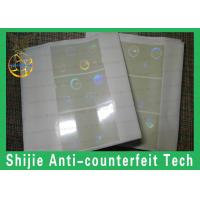 Buy cheap the fastest shipping best quality FL hologram overlay square corner  no bubbles from wholesalers