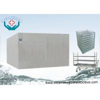 Buy cheap Large Steam Sterilizer Double Door Autoclave Reducing Microorganism To 7 Logs from wholesalers