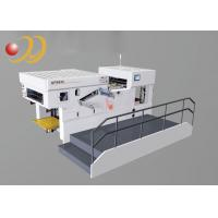 Buy cheap Easy Operation Paper Cut Machine , Die Cut Paper  With Waste Stripping from wholesalers