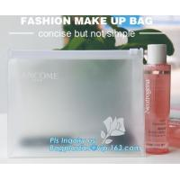 Buy cheap Plastic Makeup Brushes Bag For Women Zipper EVA Slider Gusset Cosmetic Bag, slider zipper bag/ cosmetic packaging, zip from wholesalers