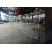Buy cheap Diamond Hole Shape Portable Chain Link Fence For Residential Housing Sites from wholesalers