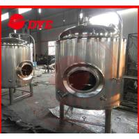 Buy cheap 500 L Insulated Jacket Cooling Tank Or Beer Fermentation Tank from wholesalers