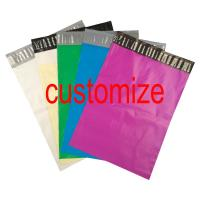 Buy cheap Custom Logo Print Poly Mailer Colored Courier Express Bags PE Material Self Sealing from wholesalers