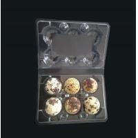 Buy cheap Disposable plastic quail egg tray 6 holes quail egg tray plastic egg tray for product