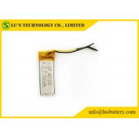 Buy cheap 401230 100mah Rechargeable Lithium Polymer Battery Customized Terminals from wholesalers