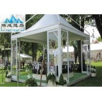 Buy cheap Portable Durable 5X5M Backyard Pagoda Tent With PVC Fabric Covers Flame Retardant from wholesalers