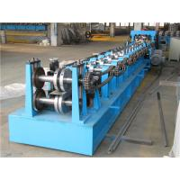 Buy cheap Automatic Z Purlin Roll Forming Machine , Durable Roll Former Machine Chain Drive product