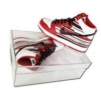 Buy cheap Good quality clear acrylic shoe box acrylic display case from wholesalers