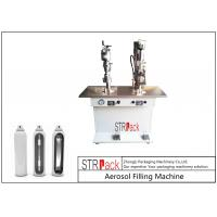 Buy cheap Electronic Control Aerosol Filling Machine , Bag On Valve Filling Machine from wholesalers