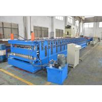 Buy cheap Double Layer Colour coated Steel Roof Panel Wall Panel Roll Forming Machine PLC Control Automatic from wholesalers