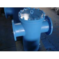 Buy cheap T Type ASME Strainer Bolted or Threaded Cover CS SS Hastelloy Inconel Monel Alloy20 from wholesalers