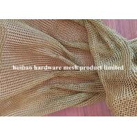 Buy cheap 2mmx25mm Stainless Steel 304 Ring Mesh Chain Link Drapery for Space Divider from wholesalers