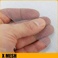 Buy cheap Ultra Fine 14 mesh* 0.6mm wire home security window screen for Anti-Theft from wholesalers