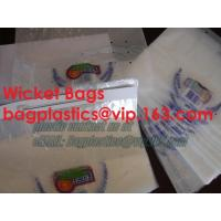 Buy cheap wicketed bags, stapled bags, staple, wicketed poly bags,apparel bags, ice bag, apple bags from wholesalers