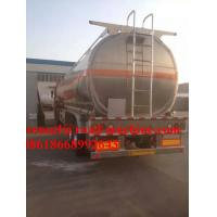 Buy cheap 37m³  32Ton Chemistry liquid Semi Truck Trailer 24000KG / Unit from wholesalers