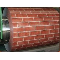 Buy cheap Brick Color galvanised sheet Steel Coil prime prepainted For Metal Roofing / window frames from wholesalers