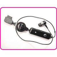 Buy cheap Noise Canceling Metal Retractable Noise Canceling Earphone With Usb Jack, Microphone from wholesalers