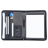 Buy cheap Black PU Leather Business Portfolio For Business Travel / Daily Use from wholesalers