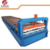 Buy cheap 5.5kw Trapezoidal Sheet Roll Forming Machine , Metal Roof Panel Machine from wholesalers