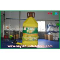 Buy cheap 3mH Inflatable Bottle Custom Inflatable Products For Corn Oil Commercial Advertising from wholesalers