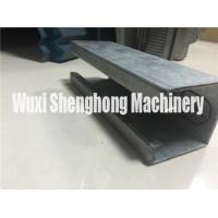 Buy cheap Metal C shape Purlin Roll Forming Machine Anti-rust Roller Long Life from wholesalers