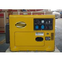 Buy cheap Customized 6kva Silent Residential Diesel Standby Generator Low Fuel Consumption from wholesalers