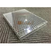 Buy cheap Transparent Acylic Aluminum Honeycomb Board Sandwich Panels Lightweight from wholesalers