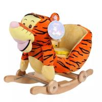 Buy cheap Cute Brown Cute Baby Toys Tiger Plush Baby Rocking Animal Chair from wholesalers