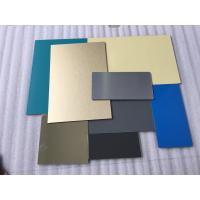 Buy cheap White Lightweight Aluminum Plate Panels , Interior Sheet Metal Wall Panels  product