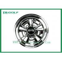Buy cheap Durable 8 Golf Cart Wheel Covers Easy Installation Deep Dish Shiny Black product