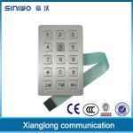 Buy cheap Zinc Alloy Frame ATM Keypad 3 x 4 Digital Access For Kiosk B21 from wholesalers