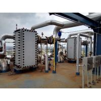 Buy cheap Refinery SMO Titanium Welded Plate Heat Exchanger Sheet Bundle Mounted from wholesalers