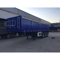 Buy cheap Dongfeng 3 Axle Side Wall Semi Trailer / Cargo Semi Trailer With Capacity 50T FUWA Axle from wholesalers
