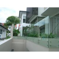 Buy cheap Stainless steel patch fitting / standoff glass railing for interior/ outdoor product