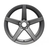Buy cheap 20x9/10.5 Staggered Wheels Gravity Casting Aluminum Rims Light Weight Concave Design Hyper Silver for Benz and Porsche from wholesalers