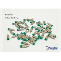 Buy cheap Green Rubber Cap Dental Dowel Pins , Precise Fitting Locating Dowel Pins from wholesalers