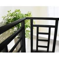 China Aluminum Stair Railing For Stairs , Powder Coating / Anodizing Aluminium Exterior Hand Railings on sale