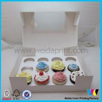 Buy cheap Custom Order Food Packaging Boxes 1 - 24 Hole With PVC Window from wholesalers
