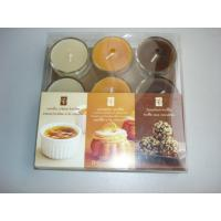 Buy cheap 9pk scented tealight candle with gift box package,3 color mixed from wholesalers