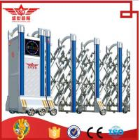 Buy cheap Stainless steel fence stretch gate electric sliding doors with remote control for factory-J1415 from wholesalers