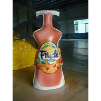 Buy cheap Fashionable Inflatable Drink Bottle / Lightweight Inflatable Marketing Products from wholesalers