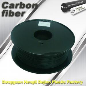 Buy cheap CarbonFiber 3D Printing Filament  .Black Color,0.8kg / Roll ,1.75mm 3.0mm product
