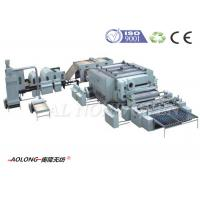 Buy cheap Polypropylene Fiber / Sythetic Leather Machine For Upholstery 2500kg/day from wholesalers
