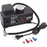 Buy cheap Changeable Current Handy Portable car tire air compressor Plastic Black from wholesalers